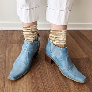 Vintage Western Style Ankle Boots